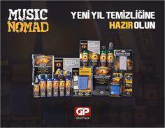 Yeni yıla temiz bir başlangıç için, Music Nomad ürünleri 32 kısım tekmili birden aramızda! http://www.gitarpazar.com/music-nomad