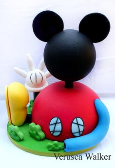 Tartas, Galletas Decoradas y Cupcakes: Miska Mouska Mickey Mouse!!!