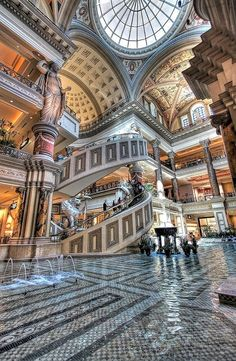 "The Forum Shops at Caesars Palace | Known as ""The Shopping Wonder of the World,"" The Forum Shops are a must-see, all-encompassing experience at Caesars Palace, Las Vegas."