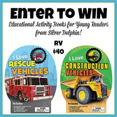 Enter to #WIN Educational Activity Books for Young Readers from Silver Dolphin! #Giveaway ends 10/3