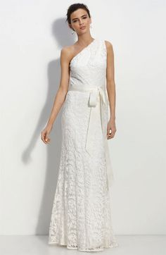 Bridal Dresses UK: Add Your Charm With One Shoulder Wedding Dresses