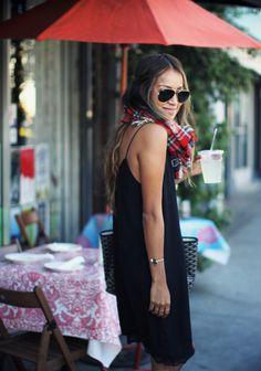 dress & scarf