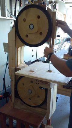 wooden bandsaw