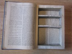 How to make a hollow book hiding place for valuables or anything little and fun…