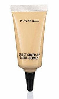 Select Cover-Up by MAC ~ one of the best concealers for me also great for covering blemishes