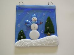 Fused+Glass+Small+Panel+by+LaGlasSea+on+Etsy,+$27.00