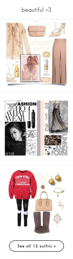 """""""beautiful <3"""" by david111 ❤ liked on Polyvore featuring Givenchy, Cushnie Et Ochs, Schutz, Marc Jacobs, Soave Oro, Skinnydip, Crate and Barrel, WALL, Tattify and Who What Wear"""