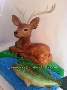 hunting cakes | Coolest Hunting and Fishing Cake