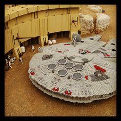 Lego Millenium Falcon.