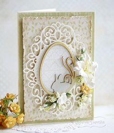Easter card   Pigment ink pads on chipboard: gray, light brown and brown  http://www.hurt.scrap.com.pl/wielkanocne-jajka-tekturowe-pisanki-5szt.html