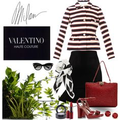 Valentino Sunday by jacque-reid on Polyvore featuring Valentino, L'Autre Chose and MAC Cosmetics
