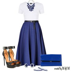 Maxi Skirt by marion-fashionista-diva-miller on Polyvore featuring moda, Topshop, Vionnet, Givenchy, Diane Von Furstenberg, H&M, Blue Nile, BERRICLE and contestentry