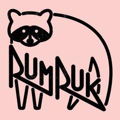 by http://meoko.co :) https://www.facebook.com/meoko.co #brand #logo #rumruk