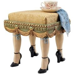 Marie Antoinette foot stool
