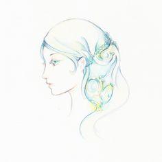 How to Draw a Soft, Dreamy, Profile Illustration with Color Pencils (via vector.tutsplus.com)
