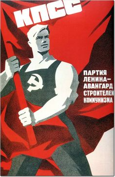 .USSR poster.