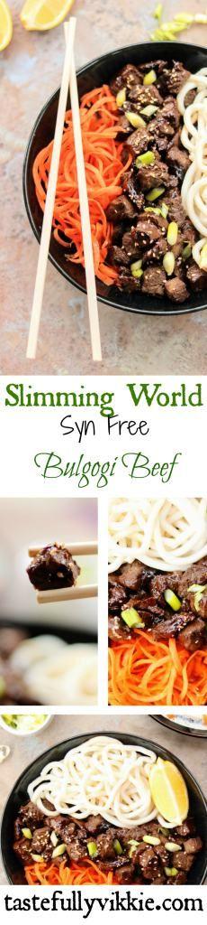 Slimming World Syn Free Korean Bulgogi Beef - Tastefully Vikkie