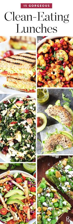 15 Gorgeous Clean-Eating Lunches by Two Peas and Their Pod. #cleaneating #lunches #eatclean #lunchrecipes #easylunches
