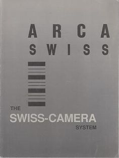 Arca-swiss: the #swiss-camera system - #acceptable - #paperback,  View more on the LINK: 	http://www.zeppy.io/product/gb/2/351877415571/