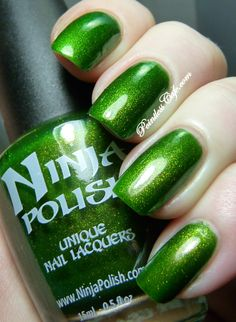 Ninja Polish Shillelagh - Swatches and Review | Pointless Cafe