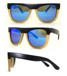 Two tone bamboo polarized sunglasses Trend Accessories, Polarized Sunglasses, Bamboo, Style, Swag, Polarised Sunglasses