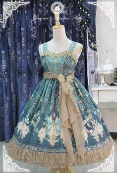 -The Kingdom of Fairies- Lolita JSK Version I