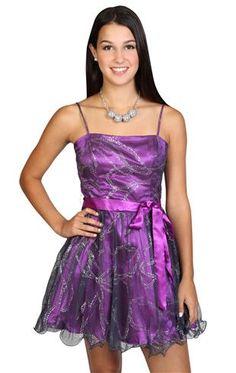 ribbon mesh glitter prom dress with tie waist and designed wire hemline