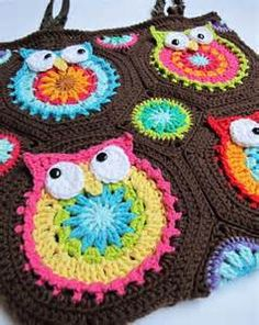 crochet owl blanket - Bing Images