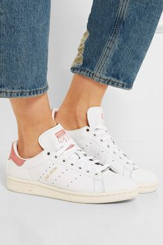 Rubber sole measures approximately 25mm/ 1 inch White leather, pale-pink suede Lace-up front Designer color: Ray PinkMen's sizing indicated on the label, please refer to Size and Fit notes for guidance in size selection