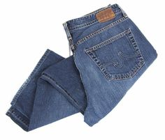 AG Adriano Goldschmied The Hero Jeans 35 x 27 Big Relaxed Denim Supima Cotton #AGAdrianoGoldschmied #Relaxed