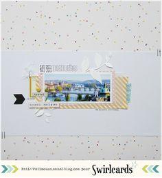 Page de Fati. Collection Confettis de Swirlcards
