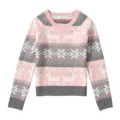 FREE SHIPPING on orders over $50. FREE RETURNS in store. Pick a fair isle knit for the fairest girl of all.