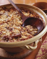 Classic Toulousain Cassoulet. I crave this SO very much after having it in Toulouse and Paris. I am afraid to make it since I have not been able to find Toulousain sausages state-side to save my life...sigh.