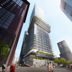 BIG's experiments in skyscraper design continue with Frankfurt win