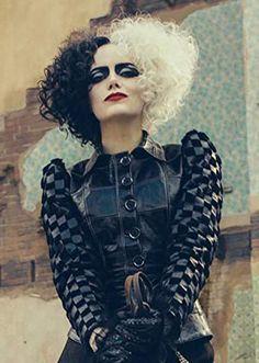 Emma Thompson, Emma Stone, Female Villains, Mark Strong, Cruella Deville, Cameron Boyce, Fantasy Costumes, Disney Films, Manado