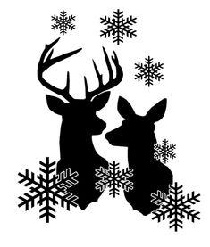 Christmas Vinyl, Christmas Projects, Christmas Raindeer, Christmas Ornaments, Image Svg, Silhouette Cameo Projects, Cricut Vinyl, Svg Files For Cricut, Cricut Creations
