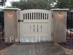 Prowell Woodworks' Original Garden Gate #
