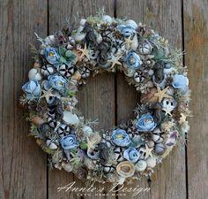 Summer Crafts, Christmas Wreaths, Anna, Holiday Decor, Creative, Flowers, Design, Home Decor, Diy And Crafts