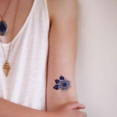 Картинка с тегом «tattoo and moon»