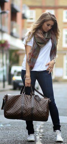 Everyday New Fashion: Travel Style London