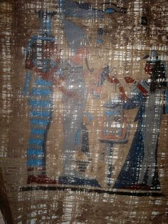Ancient Egyptian Paypyrus replicating how it was processed  since 5000BC  and showing Scenes from Ancient Egyptian Life.  http://history-direct.com/