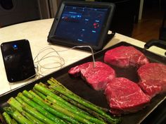 """Mid-week dinner made easier with the iGrill."" -Daniel Gould, Art and UX Director"