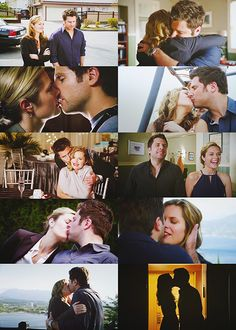 Maggie Lawson as Juliet O'Hara and James Roday as Shawn Spencer