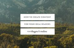 How To Create Content For Your Ideal Readers — Jennypurr