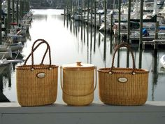 Nantucket basket tote.  Really, I just want to be right there!