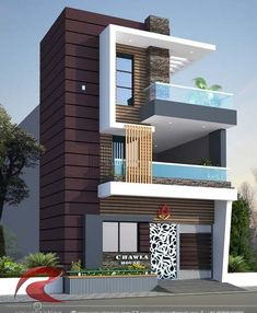 Design Discover Ideas for house front elevation designs Bungalow Haus Design Duplex House Design House Front Design Modern House Design Front Elevation Designs House Elevation Building Elevation Home Building Design Building A House House Outside Design, House Front Design, Small House Design, Modern House Design, 2 Storey House Design, Bungalow House Design, Narrow House Designs, Cool House Designs, Home Building Design