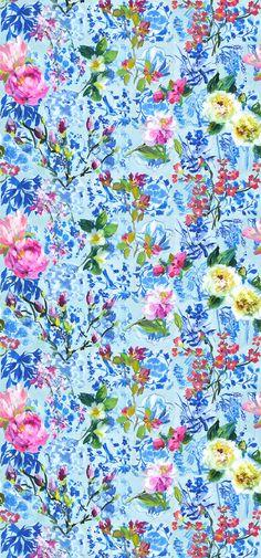 Designers Guild Majolica Cornflower wallpaper