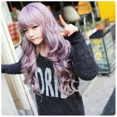 I wish I could dye my hair like this