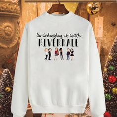On Wednesday we watch Riverdale shirt, hoodie and sweater - Source by christinewettstein - Watch Riverdale, Riverdale Funny, Bughead Riverdale, Cute Comfy Outfits, Cool Outfits, Riverdale Shirts, Teen Fashion, Fashion Outfits, Fashion Tips