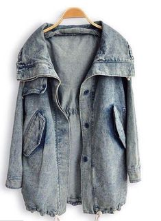 Love this jean sweater/jacket